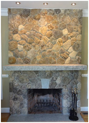 Interior Stone Fireplaces St Louis Stone Fireplace