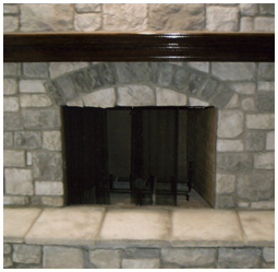 Stone Fireplace in St. Louis